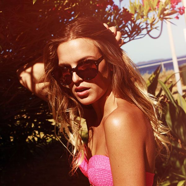 Our Kind Olive Cooke wearing Rusty Solado Frames. #ourkind
