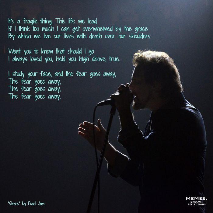 Lyrics to better man pearl jam