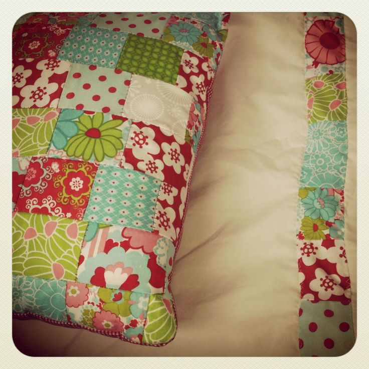 Patchwork Cushion and pillow case