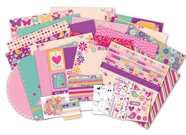 So cute for spring time scrapbooking!  NEW Kaisercraft 'Butterfly Kisses' Collection ~ Instore NOW at Alice in Paperland - 6 Bridge Street Rydalmere NSW