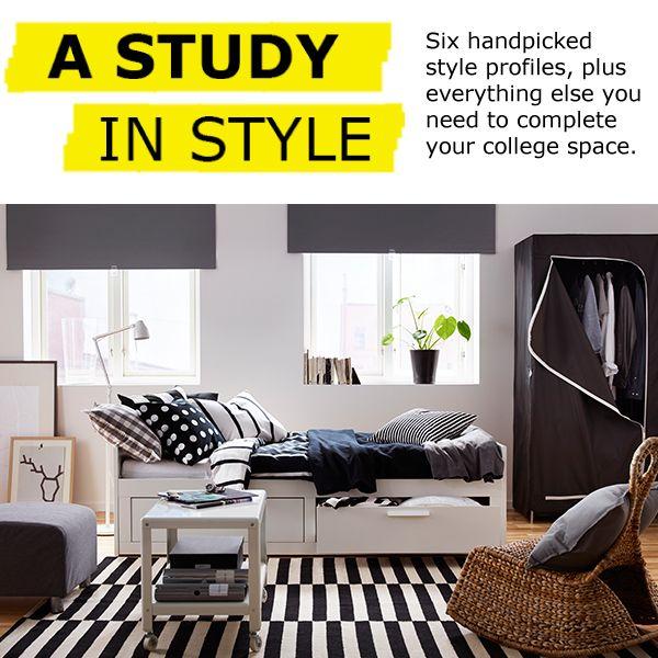 BRIMNES Headboard with storage compartment, white - white - Full/Double - IKEA