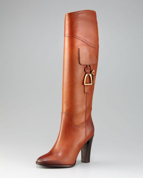 Leather Riding Boot - gorgeous!