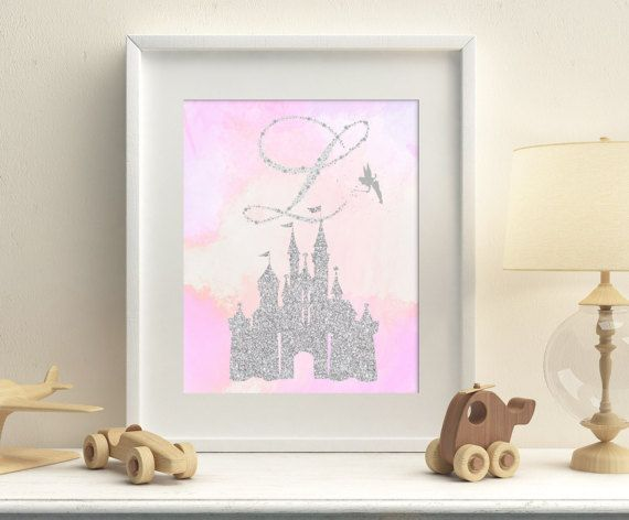 Princess castle personalized printable by HappyPrintCreations