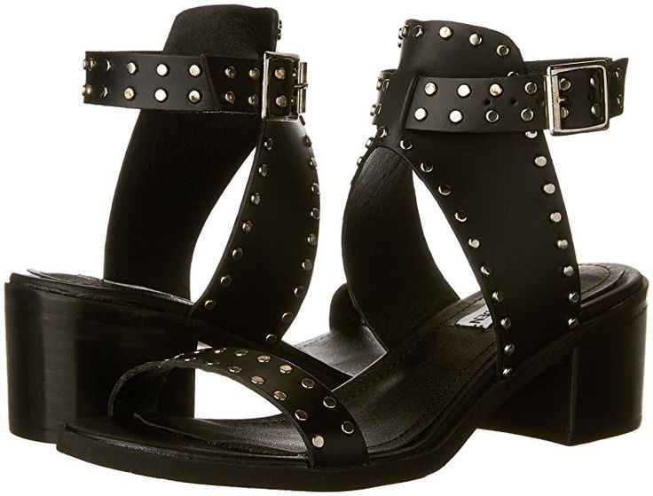 Steve Madden Women's Gila Dress Sandal, Black/Multi, 6 M ...
