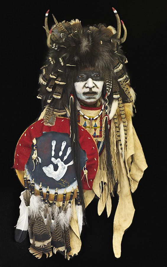 War Paint is a symbol of Native American tribes and a warrior in every aspect. The war cap turban of fur, feathers, and horns, combined with face paint ( made from plant roots, clay, and buffalo fat )