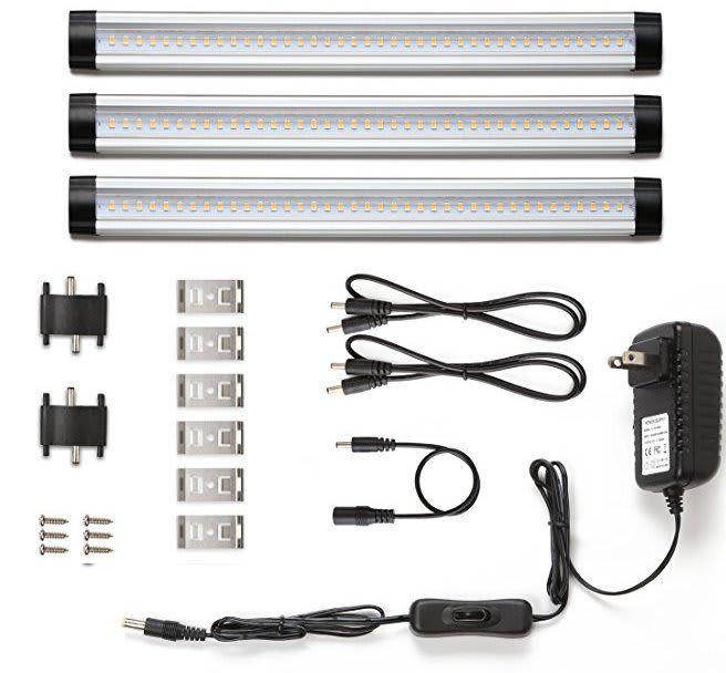 LE Under-Cabinet LED Lighting 3-Panel Kit for $18  free shipping w/ Prime https://www.lavahotdeals.com/us/cheap/le-cabinet-led-lighting-3-panel-kit-18/301184?utm_source=pinterest&utm_medium=rss&utm_campaign=at_lavahotdealsus&utm_term=hottest_12