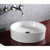 """Found it at Wayfair - 4.76"""" X 17.72 Round Bathroom Vessel Sink"""