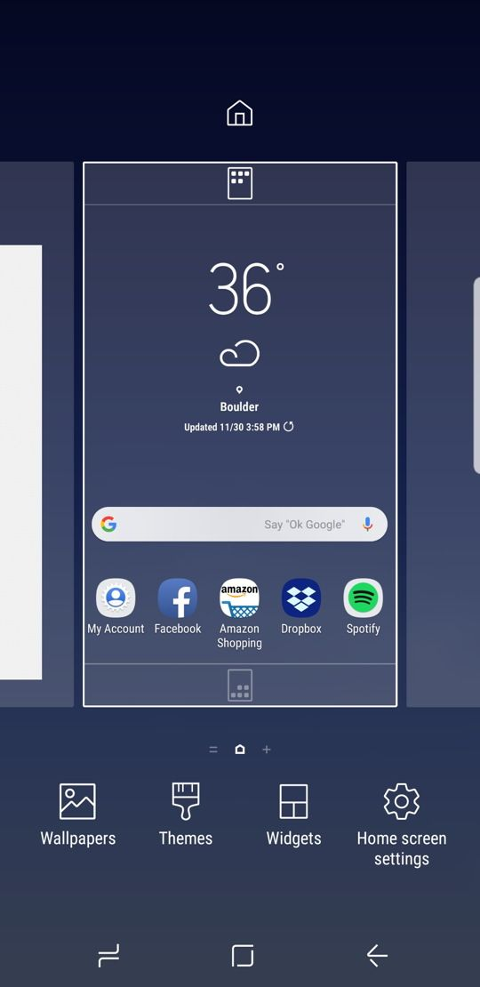 How to set up the weather widget on the home screen of the