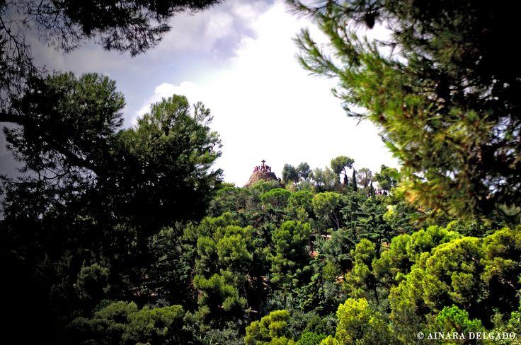 Calvario - Parque Güell - Barcelona 13-08-2015