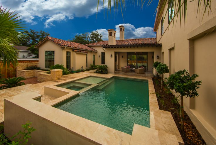 Custom Nic Abbey Luxury Luxury Homes Patio Terrace Pools Forward Pool