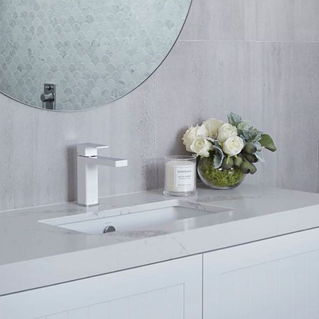 Not a fan of black tapware for the bathroom?   We love the @dorfaustralia Epic Splice Basin Mixer, $439 available online now at The Blue Space. Find quality products from the comfort of your own home, and always shop with confidence from us!