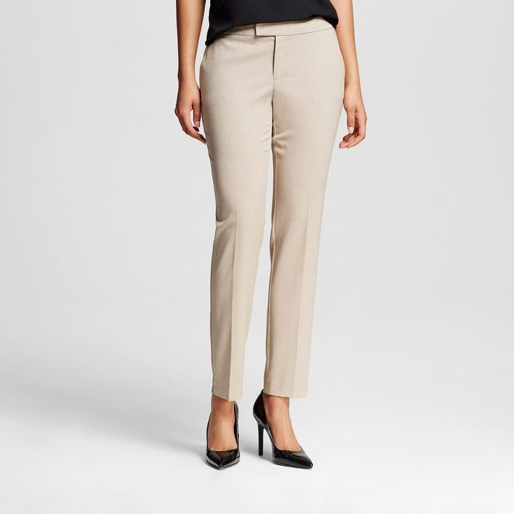 Women's Bi-Stretch Twill Skinny Classic Vintage Khaki Long - Merona, Size: 2 Long