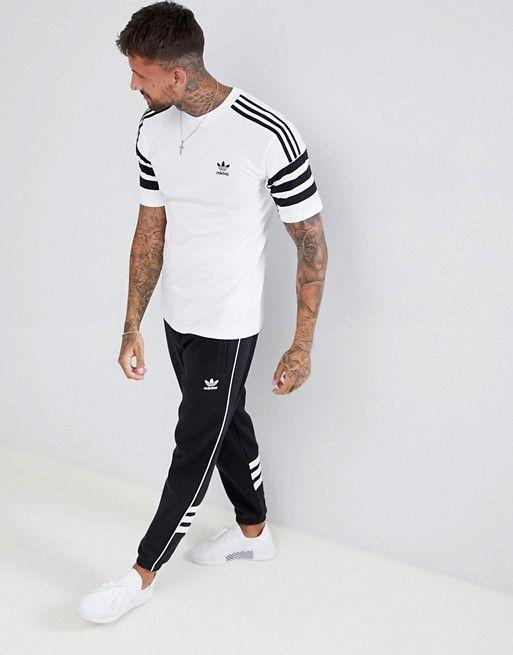 0c799397 adidas Originals | adidas Originals Authentic T-Shirt In White DH3855