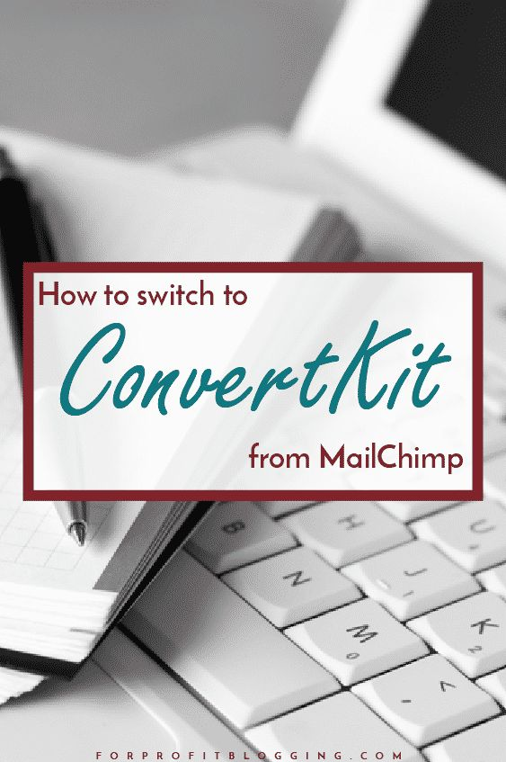 It's easy to think that switching email providers from MailChimp to ConvertKit is hard. But it's easier than you think. And it's worthwhile.