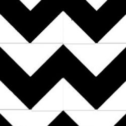 Create your own chevron pattern with this easy to follow tutorial. Great pattern for any craft!
