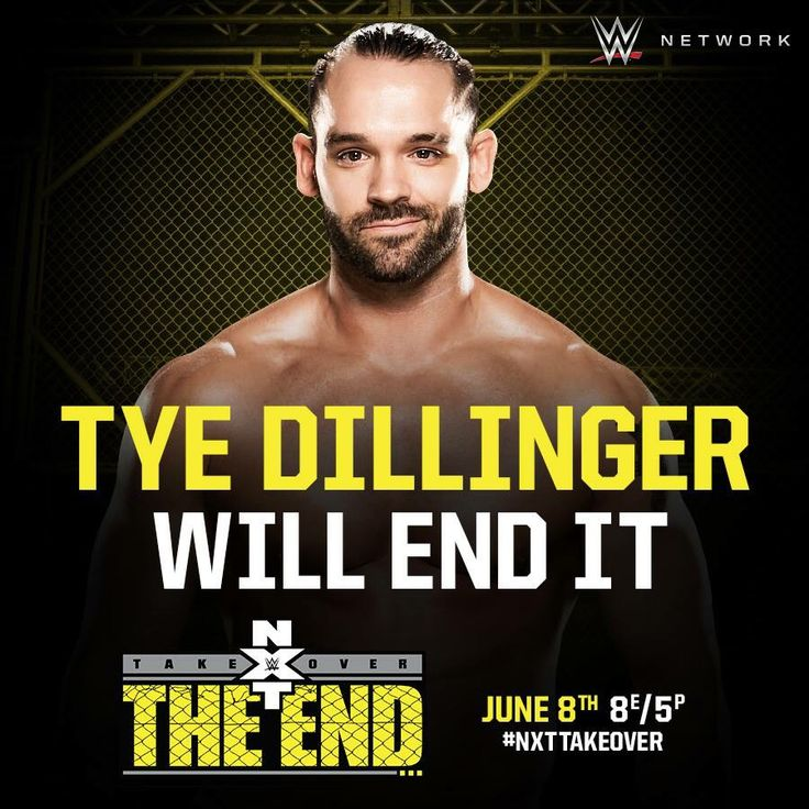 WWE NXT Takeover: The End: Tye Dillinger will end it.