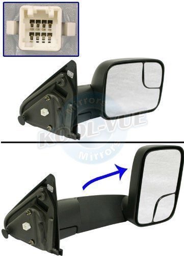 Dodge Ram 1500/2500/3500 Pickup New Towing Mirror 2002 Through 2008 Models