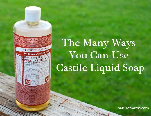 The Many Ways You Can Use Castile Liquid Soap » Switch out your toxic chemical cleansers for this great all-natural, 100% biodegradable soap! How do you use your favorite castile soap?