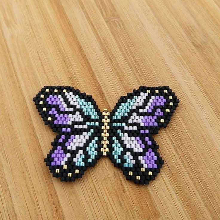 Kelebek kadar ömrümüz var. Sevmek lazım,hemen başlayalım Kelebek broşSipariş için DM #twinssart #miyukibeads #miyuki #elemegi #handmade #kişiyeözel #bestgifts #ankara #istanbul #butterfly #kelebek #kelebekaşkı