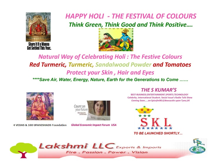 Happy Holi Campaign.....