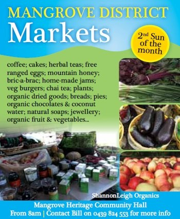 Mangrove Mountain : Mangrove District Markets - second Sunday of the month
