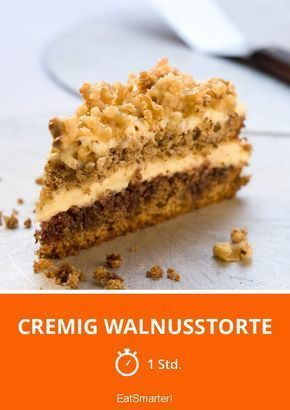 Cremig Walnusstorte - smarter - Zeit: 1 Std.   eatsmarter.de