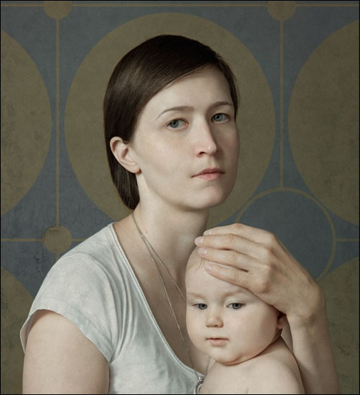 Selection from Taylor Wessing Photo Prize exhibition - Juliya Schestag. Post-production for the images took six months.