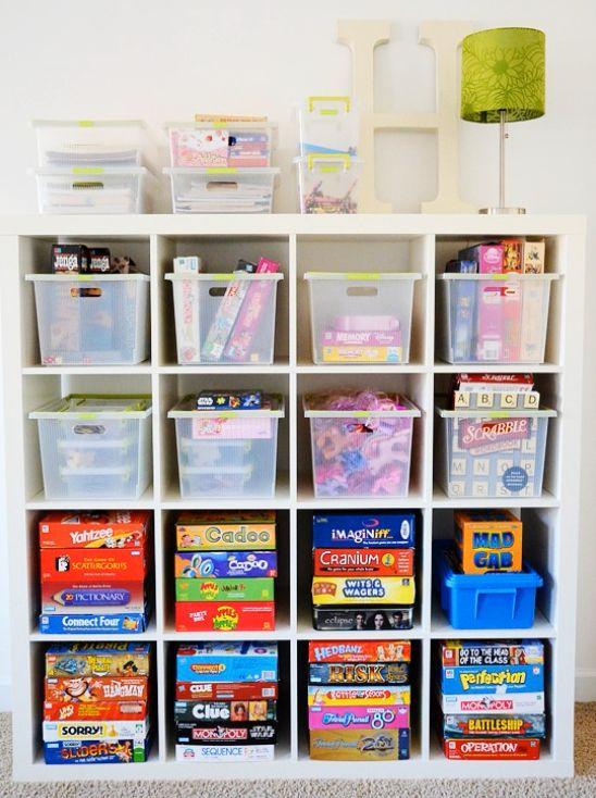 ¿Tienes una habitación como cuarto de juegos? ¿O una sección de la sala? No importa el espacio, debe mantenerse organizado. Sigue estos consejos simples e ingeniosos.