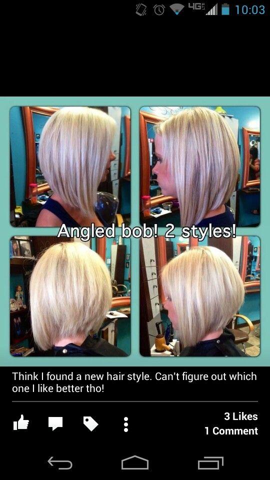 Hair cut. First style
