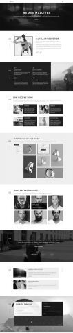 #Portfolio #HTML #template - Home 2