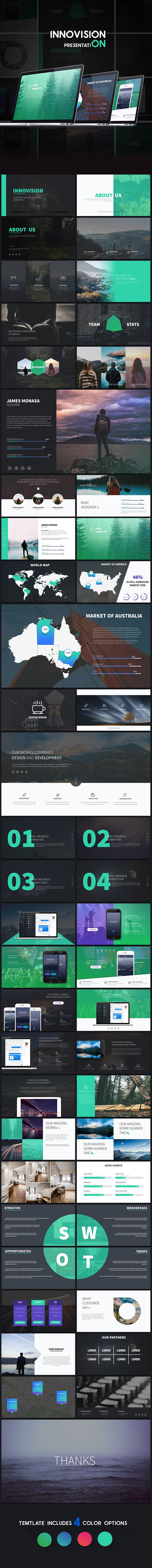 Insanely Cool Innovision - Powerpoint Presentation Powerpoint PPTX Template • Only available here ➝ http://graphicriver.net/item/innovision-powerpoint-presentation/16147037?ref=pxcr