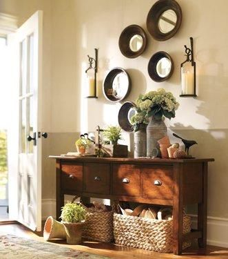 MEDITERRANEAN ENTRYWAY Pottery Barn