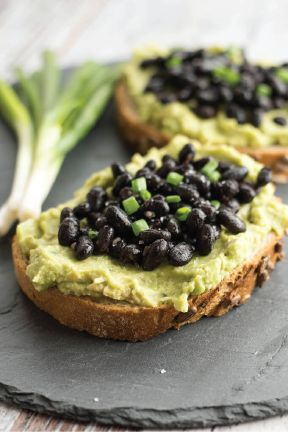 Putting things on toast makes for the speediest of lunches, and this recipe for Black Beans and Avocado Toast is no exception. Make this protein-packed midday meal and take it to go—and be sure to catch all the crumbs with a Bounty Paper Towel.