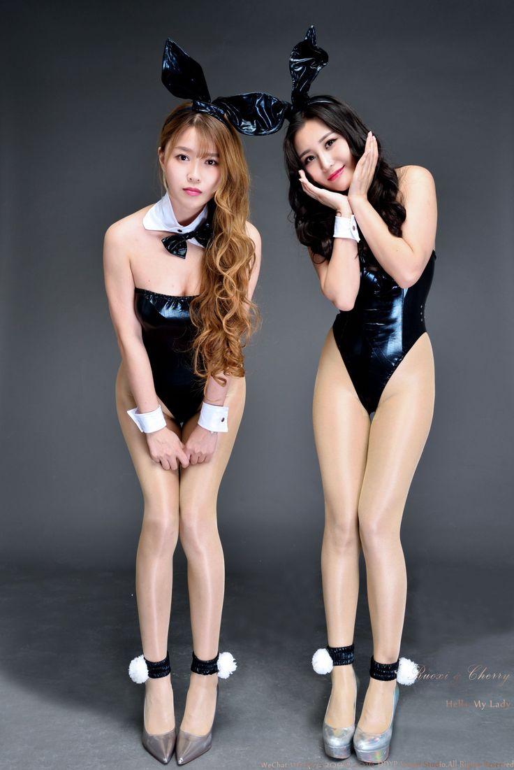 [DDY Pantyhose] No.021 若兮&张茜茹 - 棚拍高叉亮丝系列_第6页/第2张图