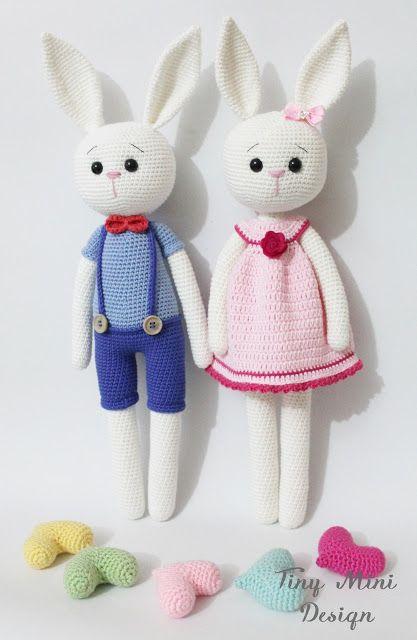 Tiny Amigurumi Rabbit : Yeni Blog ?smim ve Son calismalarim-Amigurumi Cracker ...