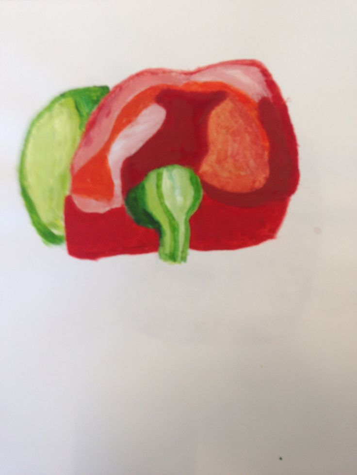 Another picture of a bell pepper