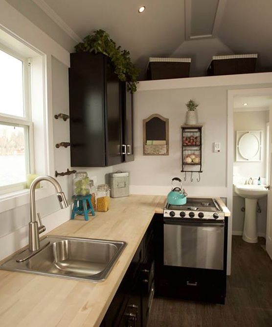 Notarosa By Titan Tiny Homes. Tiny House KitchensTiny ...