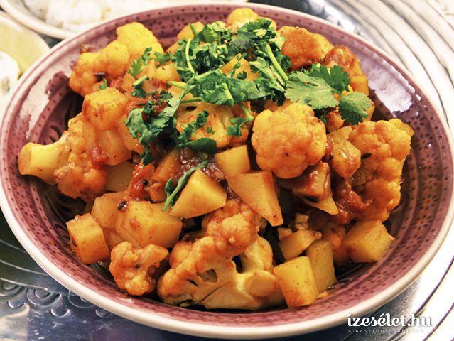 Fűszeres, burgonyás-karfiolos indiai egytálétel (Aloo gobi) - Receptek | Ízes Élet - Gasztronómia a mindennapokra