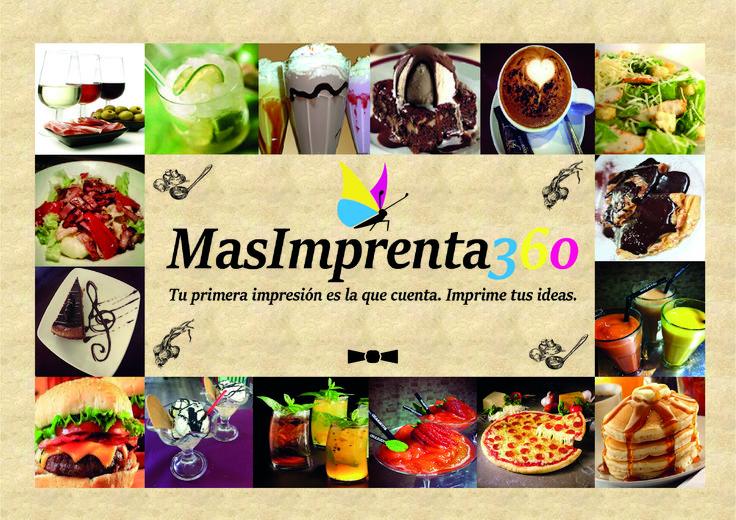 Impresione a sus invitados con motivos originales, información acerca de los postres de su restaurante o futuros eventos de su empresa.