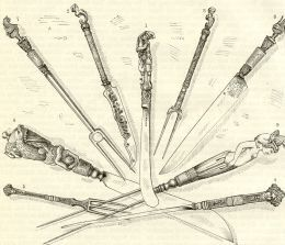 victorian era eating utensils | History of the Fork - Fine Dining Through The Ages