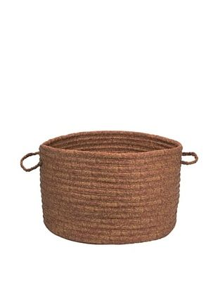 61% OFF Colonial Mills Solid Fabric Print Basket (Cinnamon)