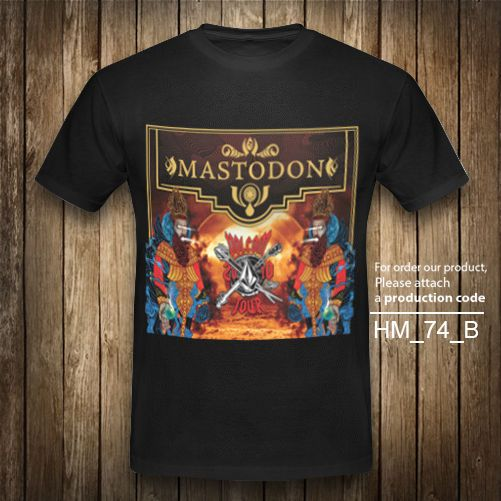 MASTODON T-Shirt Heavy Metal Vintage Retro Rock Band Black Graphic XS-2XL #Unbranded #GraphicTee