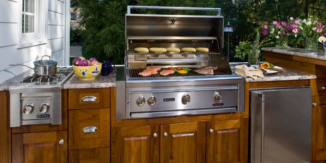 Outdoor Kitchens Can Be Small And Simple Or As Elaborate As Any Indoor Kitchen Typically They