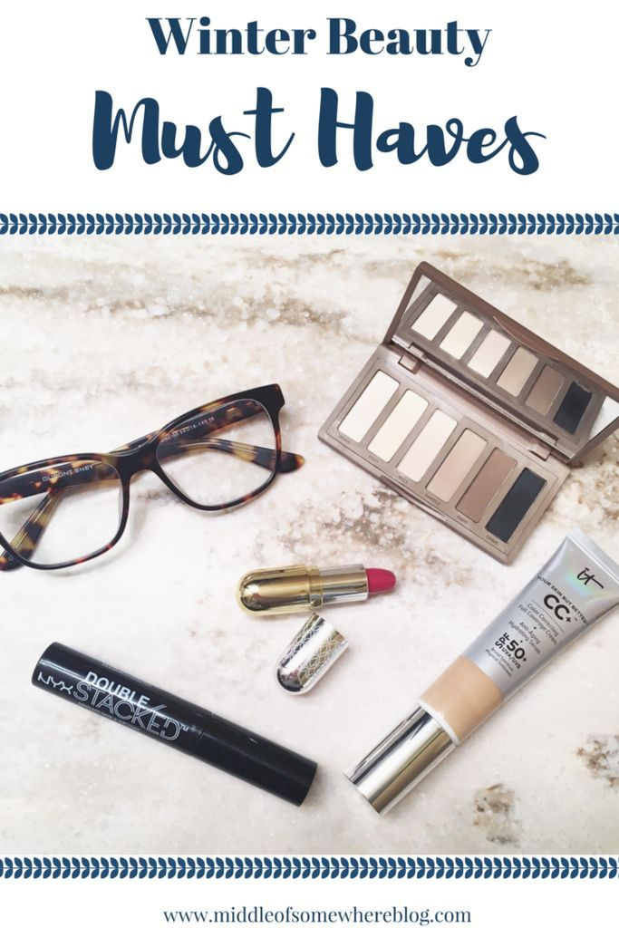 Winter makeup and skincare essentials; winter beauty must haves that are perfect for a dry climate