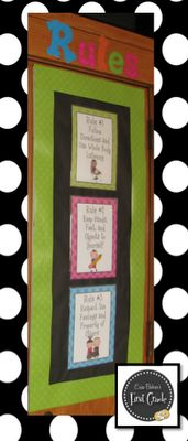 Erica Bohrer's First Grade: Classroom Behavior System. Great rules. They are all encompassing. Great discipline chart too.