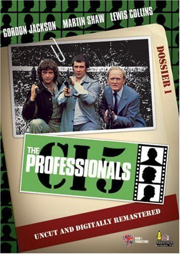 The Professionals (TV Series 1977–1983) Great series because of the three brilliant main actors- Gordon Jackson, Martin Shaw, Lewis Collins.