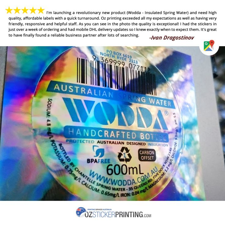 We 💙 Our Customers! Thank you for being so awesome! We appreciate it very much! #HappyCustomer #GoogleReview #Stickers #OzStickerPrinting