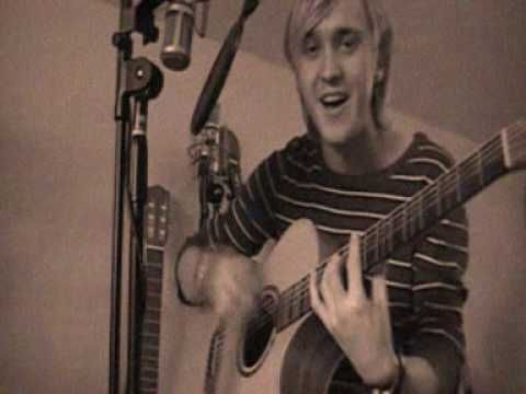 If you could be anywhere- Tom Felton  Holy shenanigans....he is so freaking good!