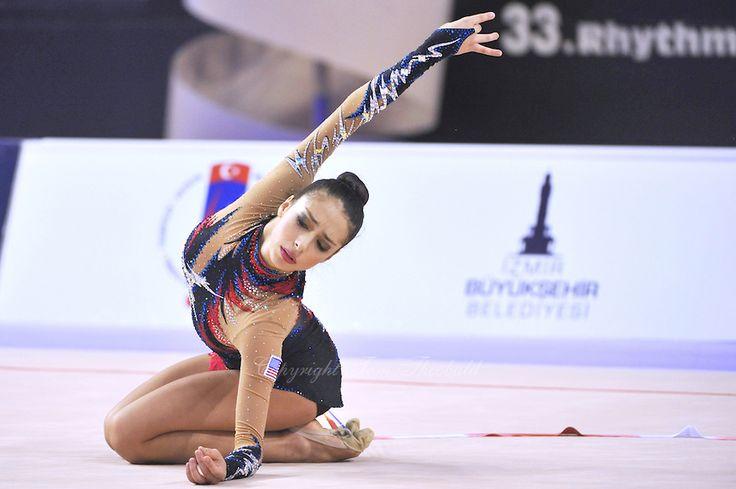 Rebecca Sereda (USA), World Championships 2014