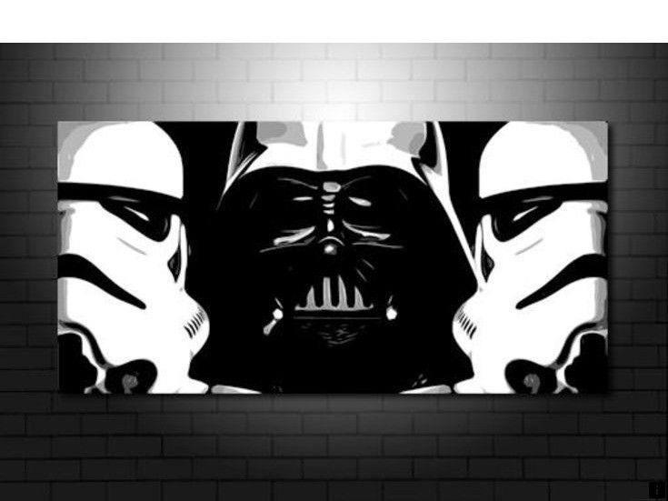 Read More About Mirror Wall Art Simply Click Here To Read More Our Web Images Are A Must See Star Wars Wall Art Star Wars Painting Starwars Canvas